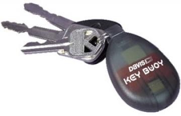Davis Key Buoy anahtarlık.