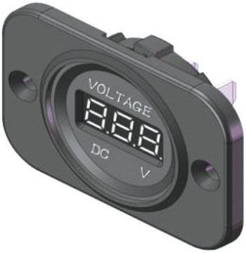 Voltmetre Soketi 5-30 Volt