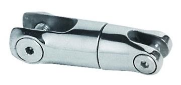 Çıpa konnektörü. AISI 316 paslanmaz çelik. Zincir ve çıpayı ayrıca bir kilit gerektirmeden bağlar.
