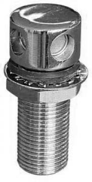 Tank havalandırma, ø 16 mm, paso boyu 25mm.