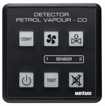 Vetus PD1000 gaz dedektörü.