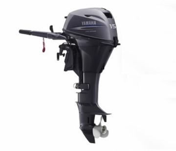 Yamaha 15 HP 4 Zamanlı Deniz Motoru F15 CMHS / Kısa Şaft