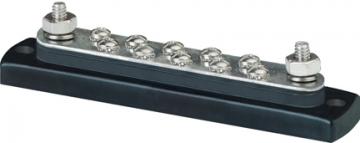 150A 10´lu terminal. 155x32 mm. Negatif ve pozitif akımda kullanılabilir.