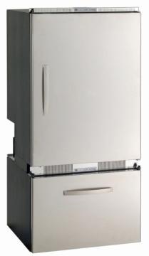Vitrifrigo Buzdolabı/derin dondurucu. DW250. Paslanmaz çelik kapı ve çerçeveli.