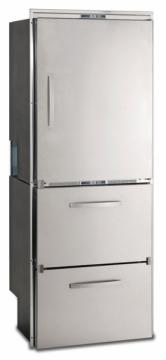 Buzdolabı/derin dondurucu. Model DW360BTX 12/24V