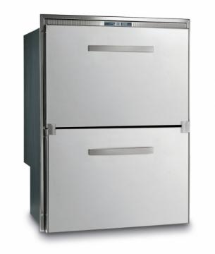 Vitrifrigo Buzdolabı/derin dondurucu. DW180.2DT. Paslanmaz çelik gövdeli.