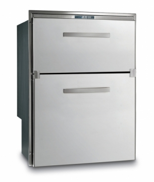 Vitrifrigo Buzdolabı/derin dondurucu.Paslanmaz çelik gövdeli.  Model: DW210.2DT