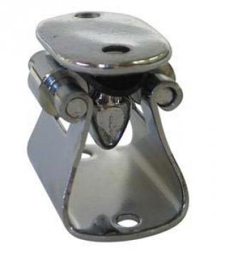 Stoper, paslanmaz çelik+plastik. 35x20 mm.
