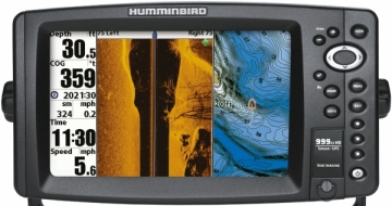 999c HD SI GPS Combo (Side Imaging®) Fotografik Yan & Dip Görüntüleme Balık Bulucu, Harita Okuyucu, Sonar