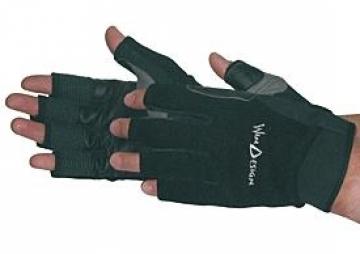 Optiparts Win Design yelken eldiveni. Yarım parmak.