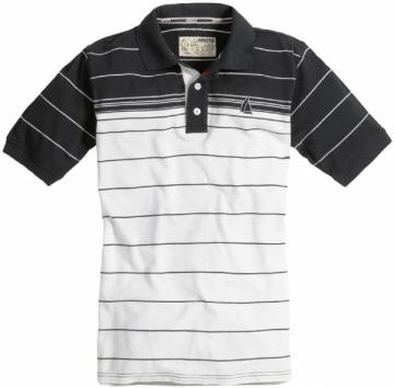 Musto Gradient Stripe Polo Tişört. %100 Pamuk.