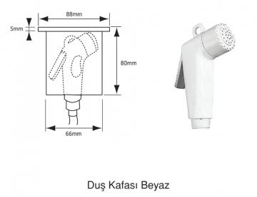 BARKA DUŞ KAFASI