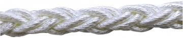 Polyester Halat 8 Kollu Beyaz / KG Fiyatıdır