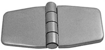Kapaklı Menteşe 37 x 76 mm, Paslanmaz