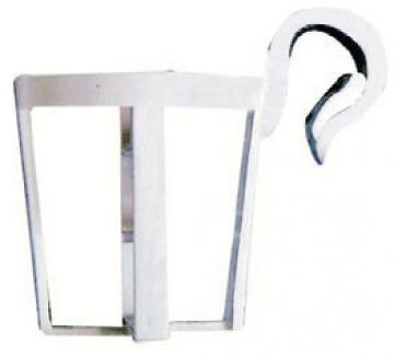 Plastik Bardaklık Beyaz (3'lü Paket) 22-25 mm