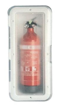 Yangın Tüpü Kutusu Şeffaf 2 Kg Tüp için