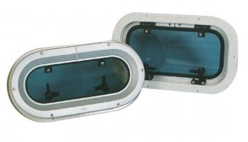 Lumboz - 26x50 cm. Oval Montaj Ölçüsü 22x46.5 mm.