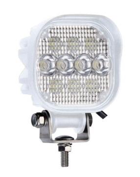 10 LED'li Kare Lamba 12-24 V Işık Gücü: 920 Lümen