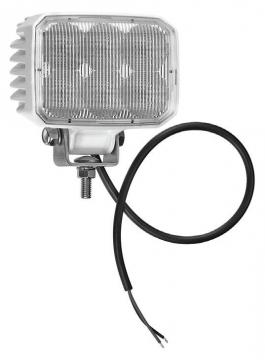 6 LED'li Diktörgen Lamba 12-24 V Işık Gücü: 937 Lümen