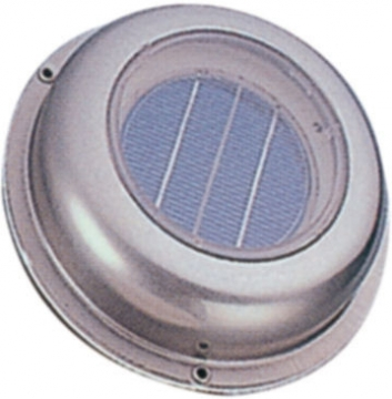 TMC Güneş Enerjili Blower Krom