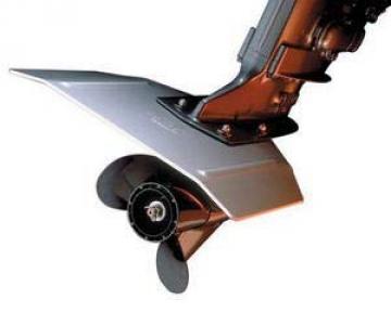 Davis Whale Tail XL alüminyum dıştan takma motor kanadı.