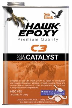 HAWK EPOXY C3-S2 HIZLI KATALİZÖR 0.76 LT