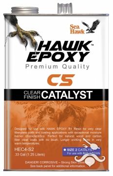 HAWK EPOXY C5-S2 ŞEFFAF FİNİŞ KATALİZÖR1.25 LT