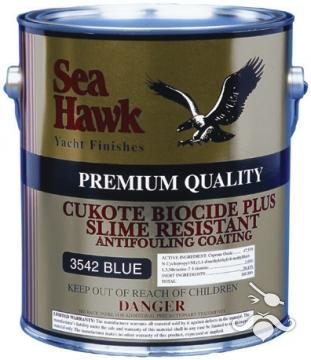 Cukote Biocide Plus yumuşak zehirli boya, 3.785 L (1 US Galon)