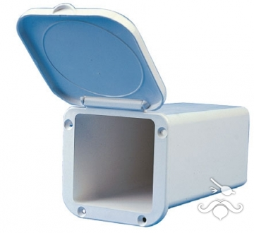 Plastik kapaklı mini kutu