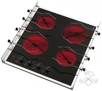 Techimpex. Dört gözlü elektrikli ocak