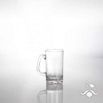 Bira bardağı, kulplu, 500 cl, polikarbonat. 2'li set