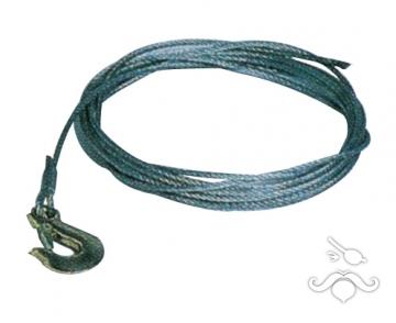 Galvanizli çelik halat