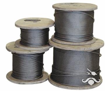AISI 316 paslanmaz çelik halat.