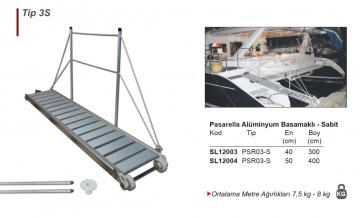 Alüminyum Basamaklı Sabit Modeller