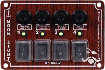 MD 2000 Y SERİSİ İZOLELİ YATAY SWITCH PANEL