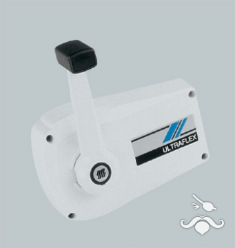 UltraFlex / UFLEX  B89 Tek Kol - Sıva Üstü - Kilitli Fildişi (Beyaz)