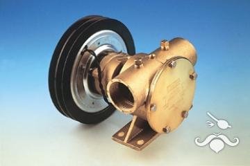 Jabsco  1'' Manyetik Kasnaklı 12 V