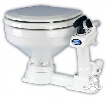 Jabsco Kollu Büyük Taş Manuel WC