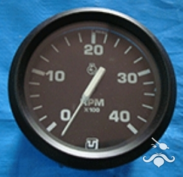 UFLEX Takometre (Devir Saati) 4000 devir dk Alternatör İkazlı ø 85 mm