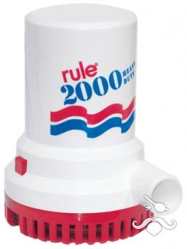 Rule Sİntine Pompası 2000 GPH 24 V