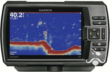 Garmin Balık Bulucu + GPS Striker 7 CV