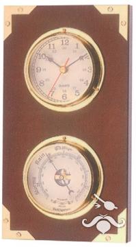 Saat - Barometre İkili Set CK198 14x26 cm