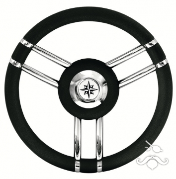 Savoretti Dümen Simidi 35 cm Tipo.27B Siyah