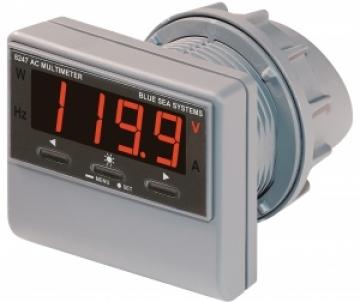 AC dijital çok fonksiyonlu, alarmlı gösterge.