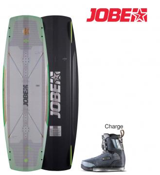 JOBE Wakeboard Breach 143 cm Charge Ayakkabı: 42-43