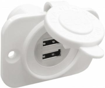 Çiftli USB soket