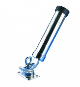 Kamış yuvası, AISI 316 paslanmaz çelik. Eğimi ve yönü ayarlanabilir.
