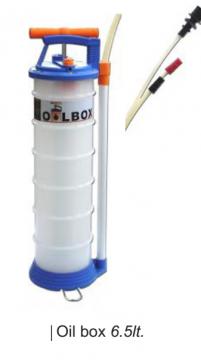 Oilbox Manuel Yağ Boşaltma Pompası 6.5 Lt