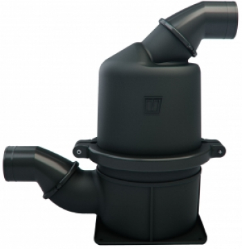Vetus ağır hizmet tipi kompozit waterlock. Hortum Ø 127 mm