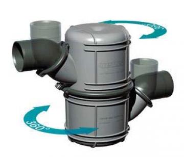 Waterlock. 45 mm iç çaplı egzoz hortumlarına uygundur. Su kapasitesi 4.5 litredir.